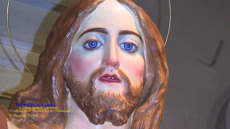 Documentazione restauro Cristo Risorto